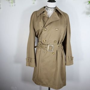 Toray Easyfit Stretch Tan Trench Coat